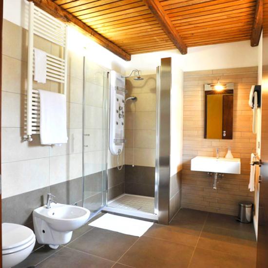 Il bagno delle nostre camere